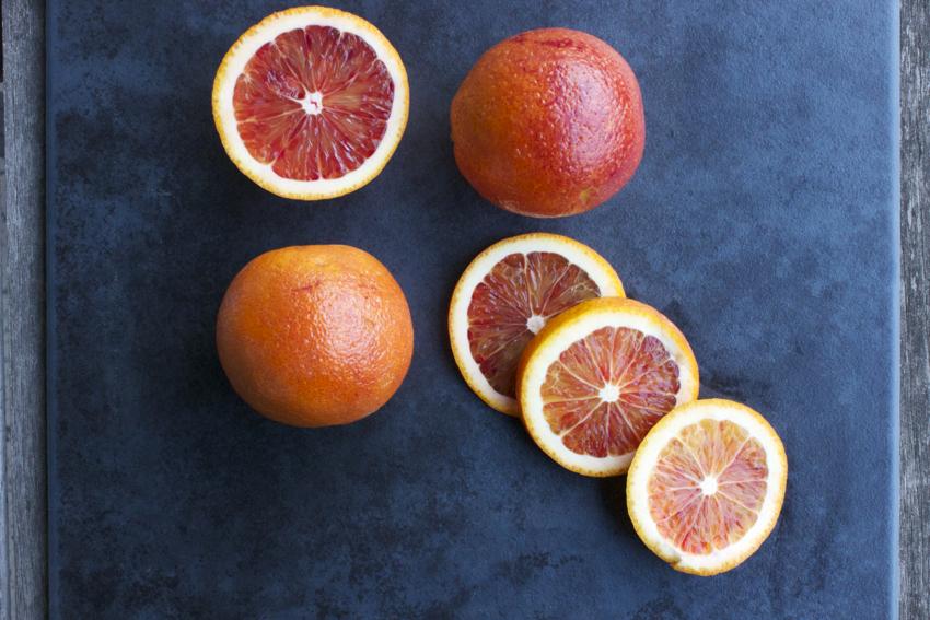 In season: blood oranges