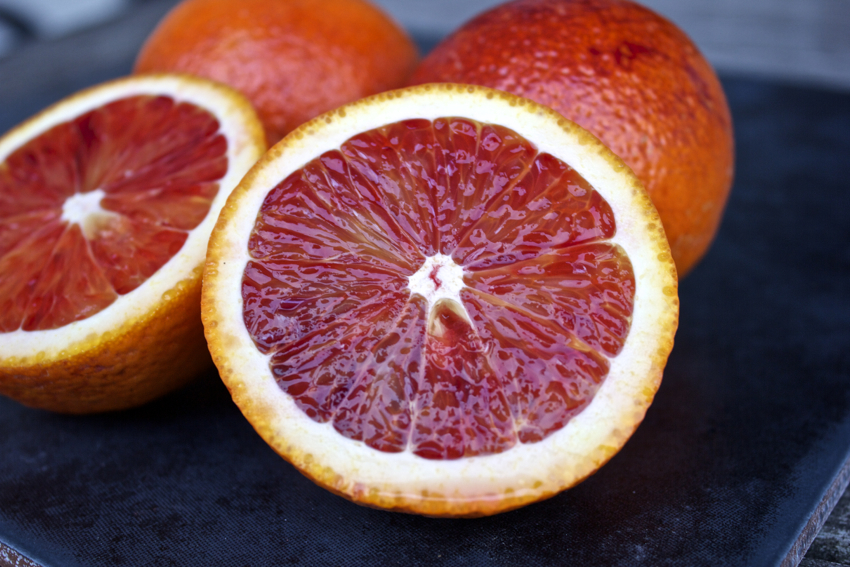 In season: blood oranges