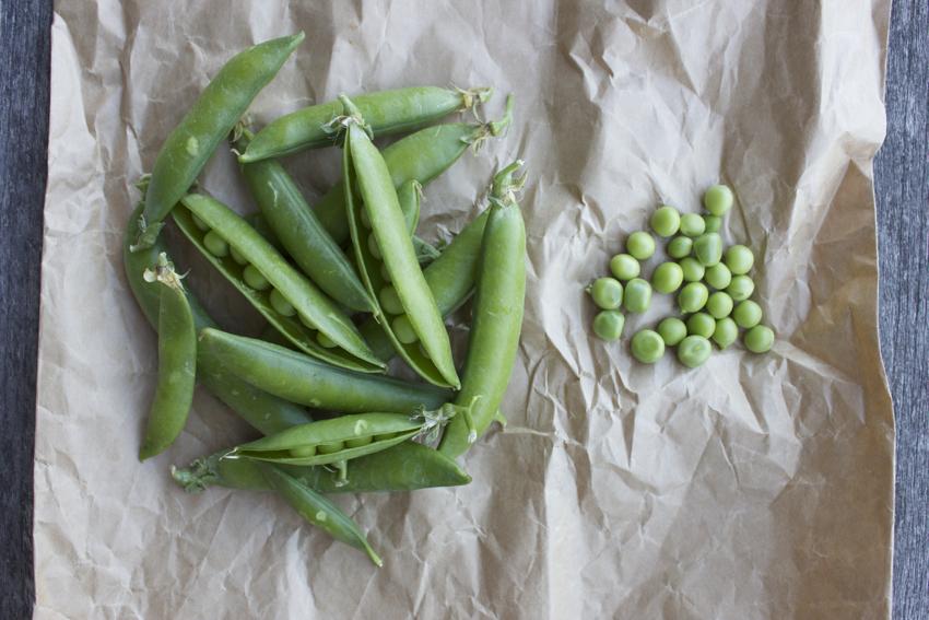 In season: peas