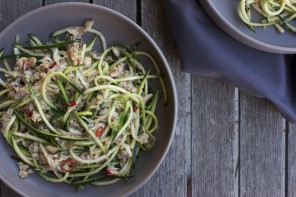 Chilli Crab Zoodles