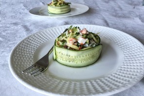 Cucumber and Crab Salad