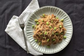 Soba Noodles with Edamame and John West Fiery Tuna